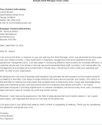 Sales Manager Cover Letter Hotel Sales Manager Job Description Cover