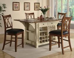 image of counter height bar table
