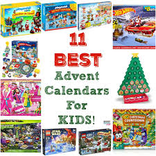 11 best advent calendars for kids! The most popular kids advent calendars!  There are
