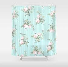 Shabby Chic Colors For Kitchen : Shabby chic kitchen curtains with red floral pattern ideas home