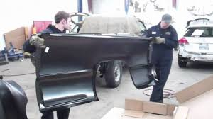 Evergreen Autoworks Pick up Truck Bedside Replacement - YouTube