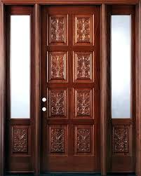 hand carved doors wooden door stops