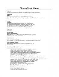 promotional resume sample promotional model resume promo sample 60 images modeling beginners