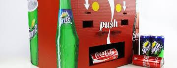 How To Make A Vending Machine Impressive How To Make Coca Cola And Sprite Vending Machine 48 Best 48