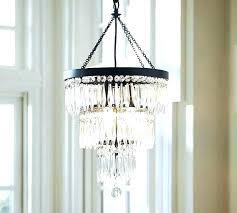 clarissa crystal drop round chandelier glass drop extra long rectangular chandelier pottery barn pottery barn clarissa