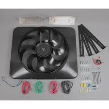 flex a lite 180 universal electric fan