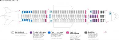 Airbus A330 Seating Chart The Most Incredible Airbus A330 200 Seating Chart Seating