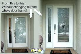 exterior door window inserts garage door glass inserts updated front doors with silver the glass door replace door slab garage door glass inserts