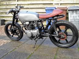 honda cj250 cb250 cafe racer project uk bike 1977 sell partex