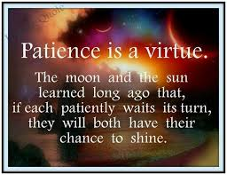 Patience Is A Virtue Quote Awesome Patience Is A Virtue A Picture Is Worth A Thousand Words Patience Is