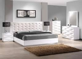 brown and white bedroom furniture. Favorable White Bedroom Furniture Painted Ideas Te Fabric Bed Frame Soft Wool Fluffy Pillows High Brown Varnished Wood Wooden And R