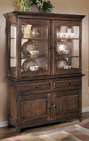 Buy Ashley Furniture Larchmont Dining Room Buffet With Hutch - Dining room table and china cabinet