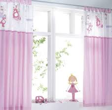 Kids Room. Bee Motive Kids Room Curtains For Girl With White And Much Purple  Underneath