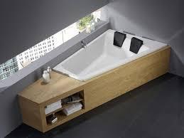 built in bathtub corner acrylic genf duo 170 180