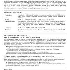 It Support Specialist Resume Elegant Resume Technical Support Skills