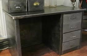 vintage steel furniture. perfect furniture industrial vintage steel desk throughout vintage steel furniture