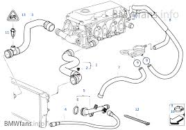 cooling system water hoses bmw e i m europe cooling system water hoses