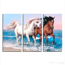 horse canvas wall art horse canvas wall art large animal wall art painting running horse artwork