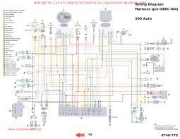solved wiring diagram for 350 arctic cat 4 x atv fixya cool cat 6 wiring diagram at Cat 4 Wiring Diagram