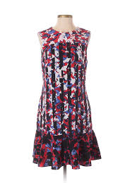 Details About Peter Pilotto For Target Women Red Casual Dress Sm Petite