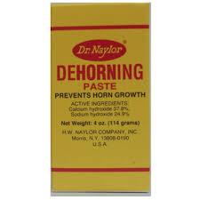 H W Naylor DHP 4oz Dehorning Paste - Walmart.com - Walmart.com