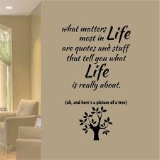 Vinyl Wall Quotes New Matters Most In Life Are Quotes Vinyl Wall Lettering Vinyl Etsy