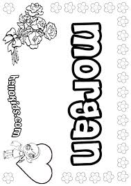 Small Picture Morgan coloring pages Hellokidscom