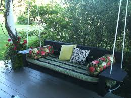 Porch Swing Bed Make Porch Swing Bed Jbeedesigns Outdoor Selecting Beautiful