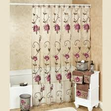 beautiful shower curtains. uncategorized:purple and green shower curtain in beautiful curtains purple floral bathroom 2