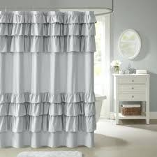 designer shower curtains grace ruffled shower curtain designer shower curtains nz