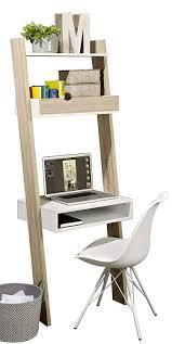 Sobuy Bücherregal Mit Schreibtisch Standregal Wandregal Mit Ablagen Frg111 Wn