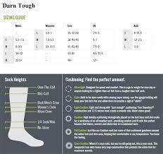 Darn Tough Vermont Sock Size Chart Murdochs Darn Tough Socks Womens Striped Knee High Light Cushion Sock