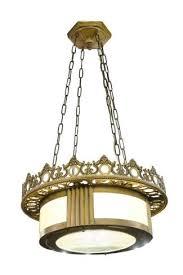 Image vintage drum pendant lighting Progress Lighting Jewish Synagogue Bronze Deco Pendant Light Olde Good Things Vintage Drum Pendant Lights Olde Good Things