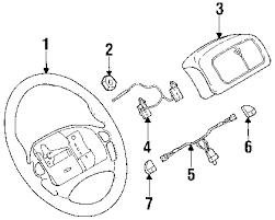 com acirc reg pontiac firebird steering wheel trim oem parts 1999 pontiac firebird base v6 3 8 liter gas steering wheel trim