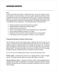 Sample Report Template For Business Business Report Example For Students Reports Examples Writing