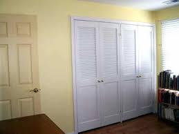 Closet ~ White Closet Doors Wood Classics 3 In Louver Louver White ...