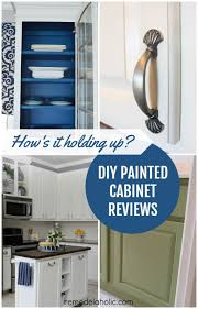 Kitchen Cabinet Resurfacing Kit Delectable Remodelaholic DIY Refinished And Painted Cabinet Reviews