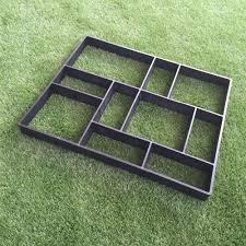 2018 rectangle garden paving plastic mold for garden concrete molds garden path diy stone model shovel d 45 40 4 cm from tanzhilian 55 28 dhgate com