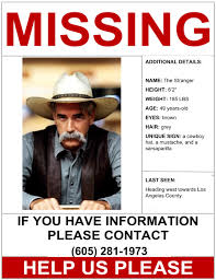 Missing Person Poster Template Custom Missing Person Poster Darren Blackman