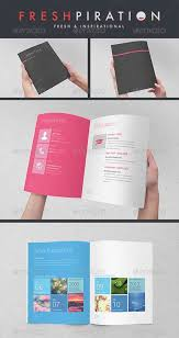 resume booklet graphicriver metro inspired clean resume booklet 8 pages