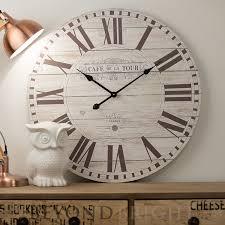 70cm cafe de la tour round wall clock