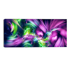 green and purple sensation abstract canvas wall art print on purple and green canvas wall art with green and purple sensation abstract canvas wall art print accent