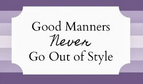 importance of good manners in our life