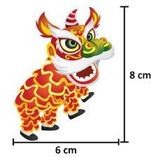 Telusuri dan download gratis 3 000 gambar gajah kartun animasi terbaik kualitas hd. Jual Patch Barongsai Custom Bordir Komputer Emblem Logo Badge Jakarta Barat Maghex Store Tokopedia