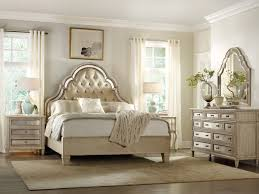 Mirrored Bedroom Cabinets Mirrored Tufted Headboard This Fabulously Chic Bedroom Look