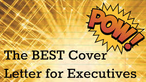 Career Resume Consulting The Best Cover Letter For An Executive