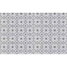 grey moroccan tiles wallpaper geometric