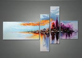 wall art designs wall art painting modern cityscape wall art home decor wall decor oil