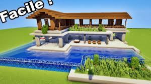 minecraft ment faire une belle maison de luxe facilement tutoriel