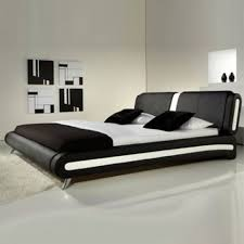 bed. Florence Modern Leather Bed